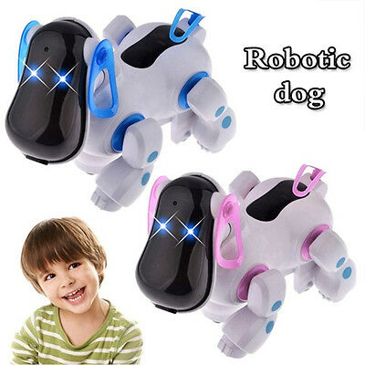 Lovely Robot Robotic Electronic Walking Pet Dog Puppy with Music Light Kids Toys