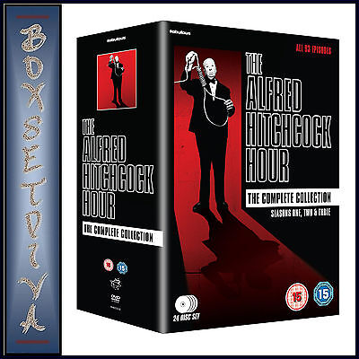 The Alfred Hitchcock Hour- The Complete Collection ***brand New Dvd Boxset ***