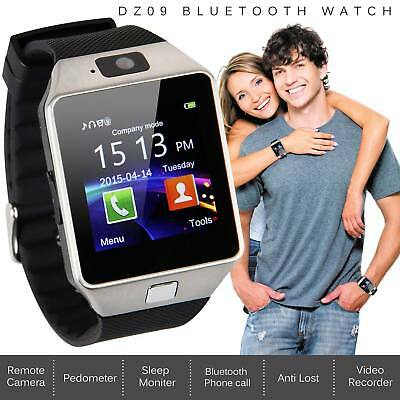 Bluetooth Smart Watch For Samsung iPhone iOS Android Phone HTC + Camera SIM Slot