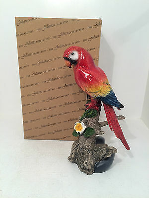 Juliana Natural World Figurine - Parrot Figurine Ornament *BRAND NEW BOXED*