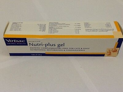 Nutri-Plus Gel for Dogs and Cats 120.5g, Premium Service, Fast Dispatch.