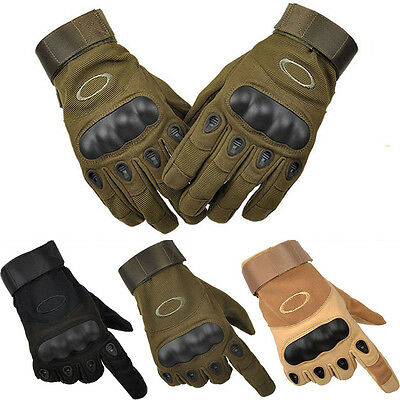 New Full Finger Military Hunting Shooting Motorcycle Army SWAT Tactical Gloves