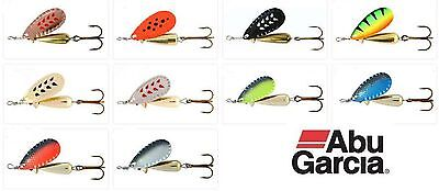 Abu Garcia Freshwater Droppen Spinner Lures 6g 8g & 12g Perch, Chub Pike & Trout