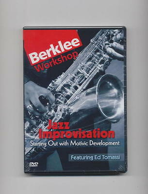 Jazz Improvisation Saxophone - Berklee *new* Dvd
