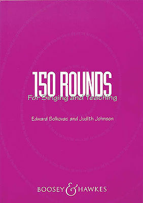 150 Rounds For Singing And Teaching Book New