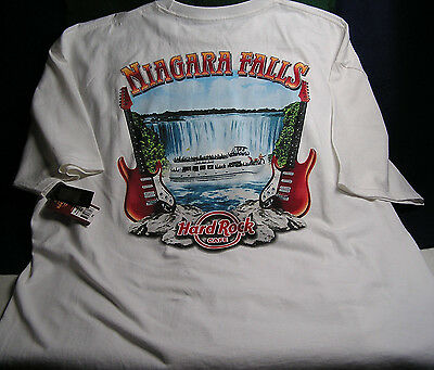 "Hard Rock Cafe ""NIAGARA FALLS NY U.S."" City T-Shirt Brand NEW w/Tags - Size XXL"