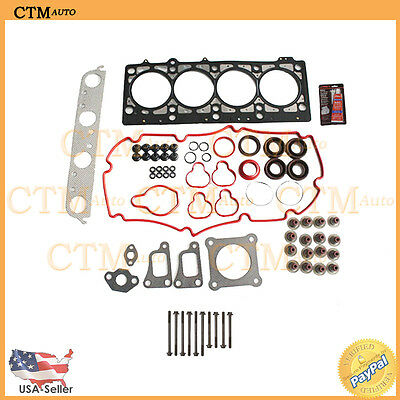 Head Gasket Set Bolts Fix Kit Seal For 99-05 Dodge Chrysler Plymouth 2.0L I4 MLS