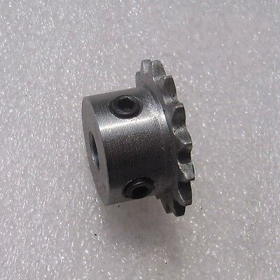 """1/4"""" 12T Rotary Chain Drive Sprocket 12 Tooth Pitch 6.35mm Bore 5/6/8/10mm"""