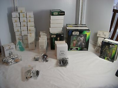 SELECTION of STAR WARS MAIL AWAY FIGURES ~ 8 variations ~ all NEW most with box