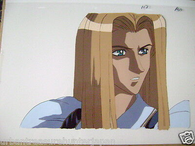 The Vision Of Escaflowne Allen Schezar Anime Production Cel 10