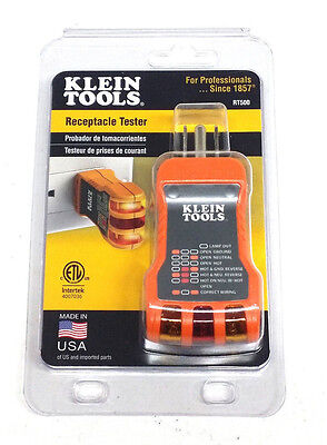 """Klein Tools Receptacle Tester RT500 """"MADE IN USA"""""""