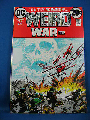 Weird War Tales 15 Vf+ 1973
