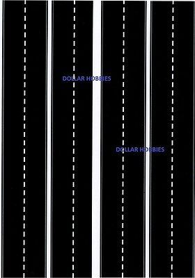 200Mm X 280Mm N Scale Uncut Self Adhesive Assorted Roads & Signs