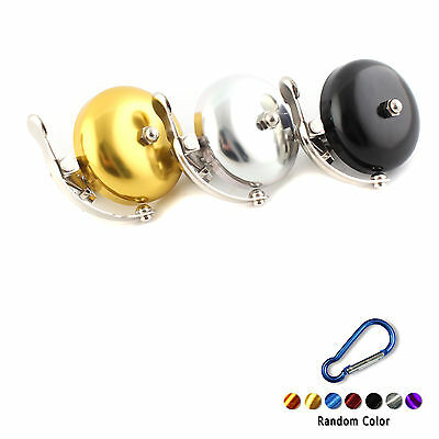 Old Style Bicycle Bike Cycling Handlebar Bell Ring Horn +Carabiner