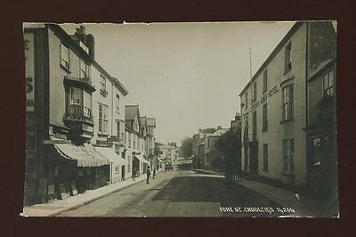 Devon CHUDLEIGH Fore St Clifford Arms Hotel RP PPC Used 1918