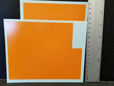 Decals Surface Orange - Colorado  10026