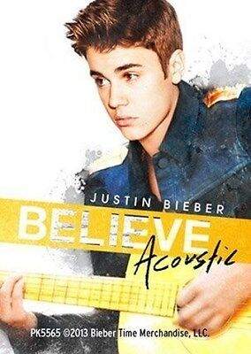 JUSTIN BIEBER acoustic 2013 - ACRYLIC KEYCHAIN official merchandise