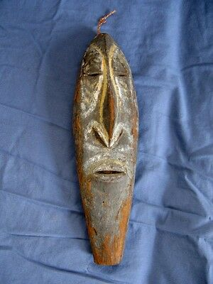 Old pre-WWII NEW GUINEA Wood Yam tribal spirit Mask