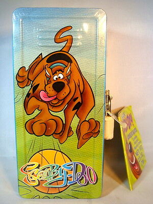 Collectible NWT Hanna Barbera Scooby Doo Tin Locker Bank Basketball still sealed