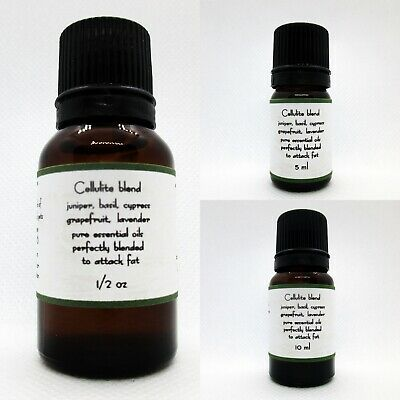 Cellulite Blend 100% Pure Essential Oils Buy 3 get 1 FREE add 4 to cart