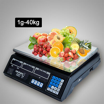 New Digital Kitchen Postal Scale Electronic Price Computing Weight up to 40KG