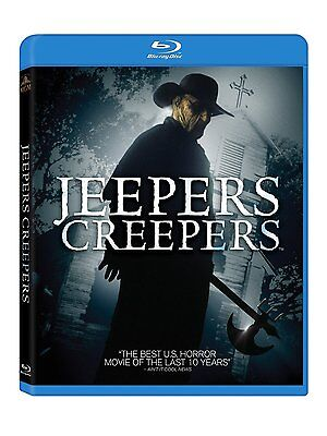 JEEPERS CREEPERS 1 (2001 Justin Long)  -  Blu Ray - Sealed Region free for UK