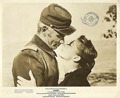 "JOANNE DRU & JEFF CHANDLER in ""Drango"" Original Vintage Photo 1957"