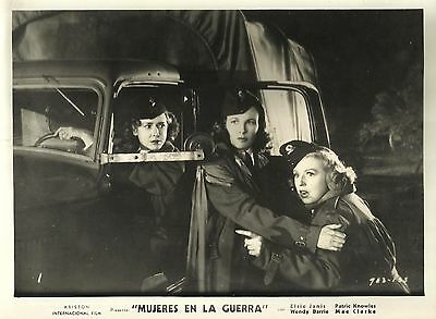 "WENDY BARRIE & DENNIE MOORE in ""Women in War"" Original Vintage Photo 1940"