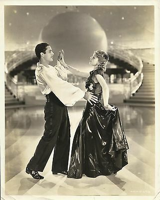 "JUNE LANG in ""Bonnie Scotland"" Ballroom Scene Original Vint. Photo By STAX 1935"