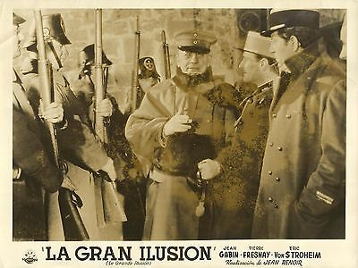 "ERIC VON STROHEIM & JEAN GABIN in ""La Grande Illusion"" Original Vint. Photo 1937"