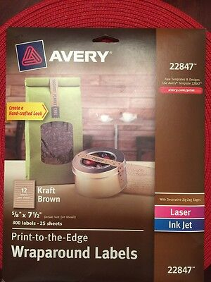 Avery Print To The Edge Wraparound Labels - AVE22847