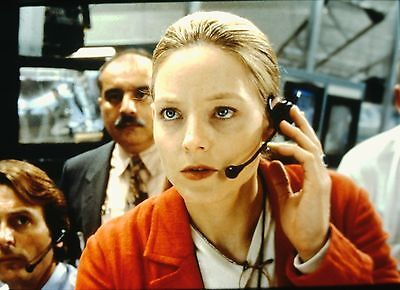"JODIE FOSTER in ""Contact"" - Original 35mm COLOR Slide - 1997"