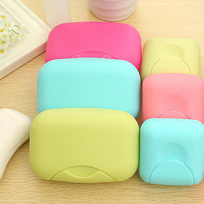 Shower New Plastic Container Travel Hiking Soap Box Case Dish Plate Holder