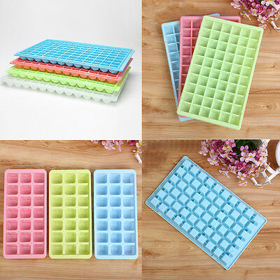 18/21/60/96 Cells Ice Cube Tray Maker Moulds Chocolate Jelly Sweet Candy Trays