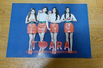 T-ara - TARA Little Apple with Chopsticks Brothers *Official POSTER* KPOP