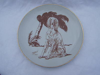 Rare Collectors Dog Plate Irish Setter 2007 Yvonne Sovereign