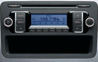 VW RCD 210  Original Autoradio CD VW T5 GOLF PASSAT TOURAN JETTA SCIROCCO