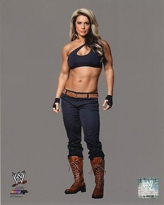 "WWE PHOTO KAITLYN STUDIO 8x10"" OFFICIAL WRESTLING PROMO LAST EVER"