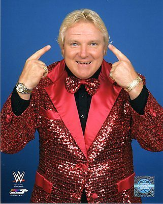 """WWE PHOTO BOBBY THE BRAIN HEENAN 8x10"""" OFFICIAL WRESTLING PROMO"""