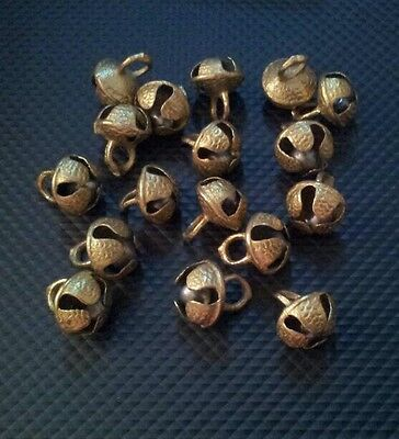 25 Handmade Ghungroo Loose Bells for Anklets Music Indian Classical Dance Crafts