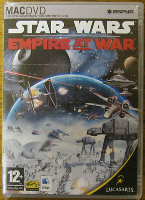 Star Wars Empire at War Intel Mac strategy game NEW & Sealed