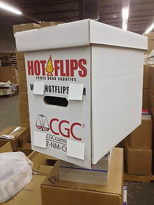 The Official Authorized CGC Graded Comic Book Box (1 Box) FREE SHIPPING