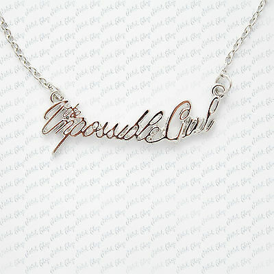 collana doctor who the impossible girl clara cosplay capaldi necklace halskette