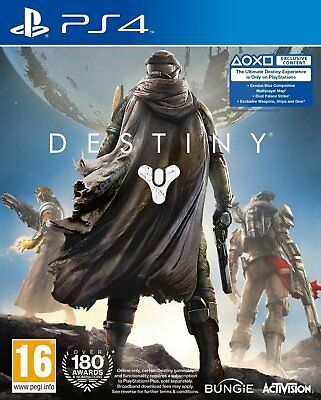 Destiny PS4 PlayStation 4 NEW SEALED DISPATCHING TODAY ALL ORDERS PLACED BY 2 PM