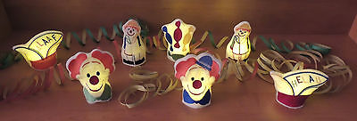 ITH Stickdatei, LED Cover, Clown, Karneval, Fasching, 10 x 10 cm, Auswahl