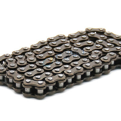 "#25 Roller Chain 25H-82L Pitch 1/4"" 6.35mm Single Row Roller Chain x 0.5Meters"