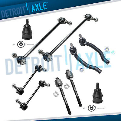 Brand New 10pc Complete Front and Rear Suspension Kit for Acura MDX Honda Pilot