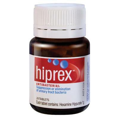 Hiprex Urinary Tract Antibacterial 20 Tablets