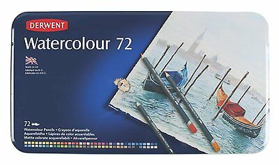 Derwent Watercolour Pencils – Tin Set of 72