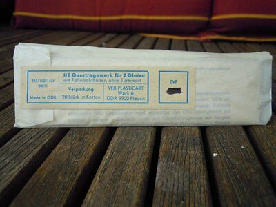Hobbex/Piko Cross span assembly for 2 Tracks,DDR ca. 13 cm long very good,
